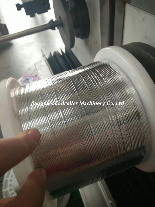 Photovoltaic Ribbon Rolling And Tin-coating Machine(storage+double Spools)
