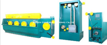 Five mold drawing machines